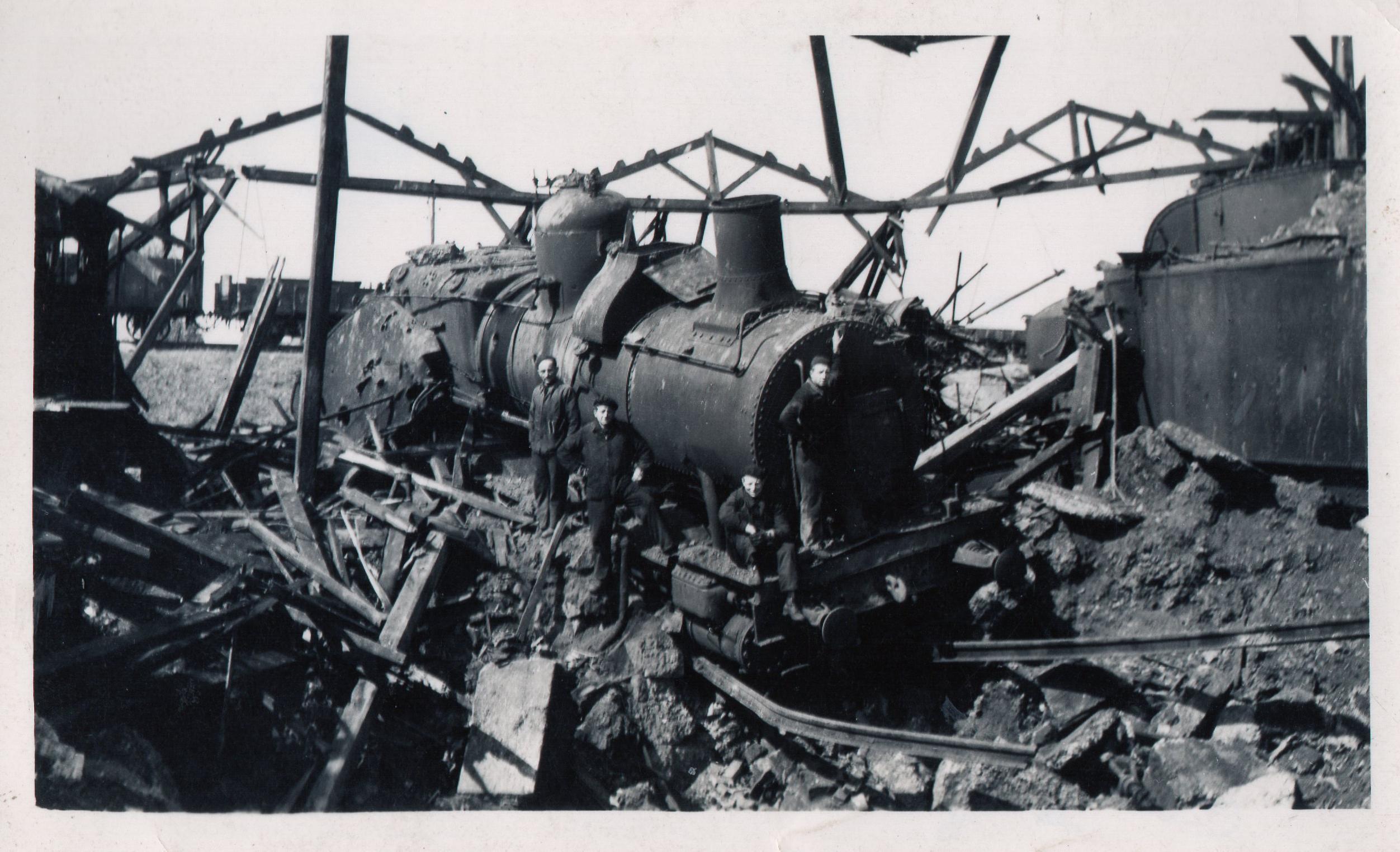 Bomb Dépôt Belf 11 Mai 44