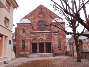 Synagogue de Belfort (photo : R. Bernat)