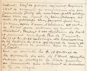 Extrait du registre de Victor Heidet concernant Soittoux et Ruet.