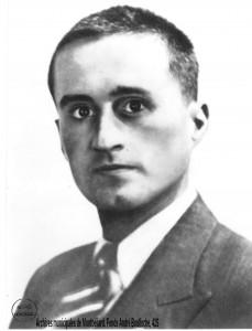 André Boulloche à son retour de déportation.