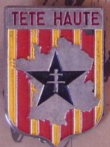 Insigne des Commandos de Provence (Coll. privée : Jocelyn Cametti)