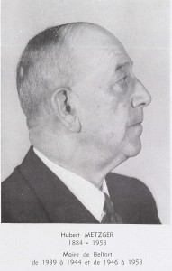 Hubert Metzger (Photo : archives municipales de Belfort)