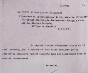 81 Juifs Etrangers 1941