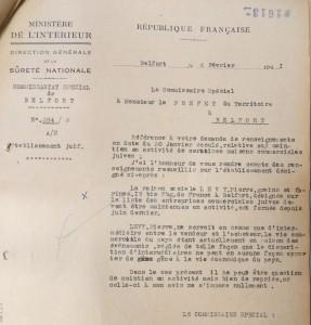 Etablissem Juif Lévy Pierre