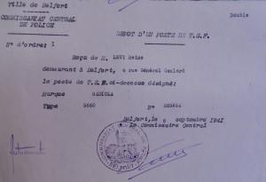 Poste reçu Belfort