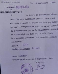 Poste reçu Montreux