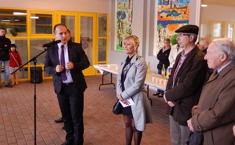 La cérémonie était organisée par M. Zumkeller, Député-Maire de Valdoie, avec le soutien de Mme Cefis, Vice-Présidente du Conseil Départemental.